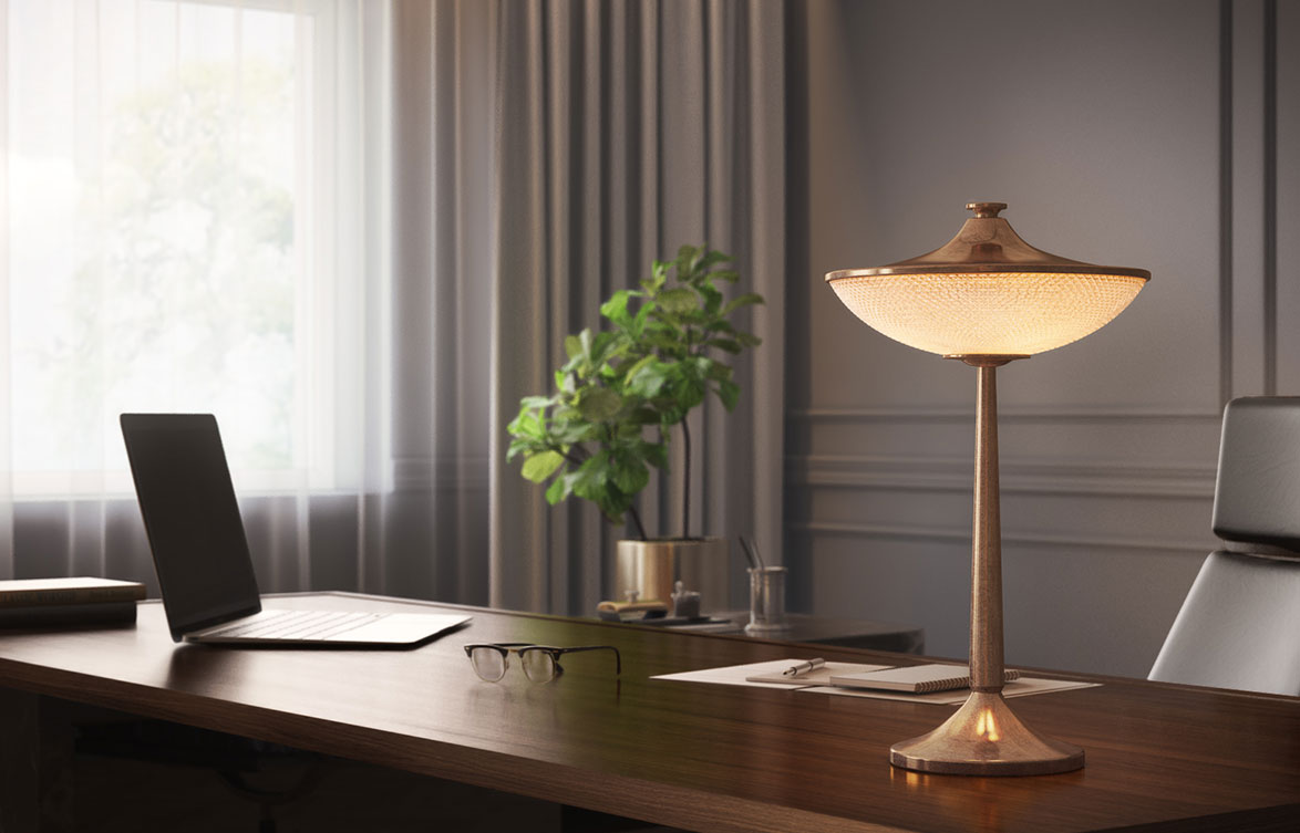 Bespoke table lamps – trends and influences for our new collection