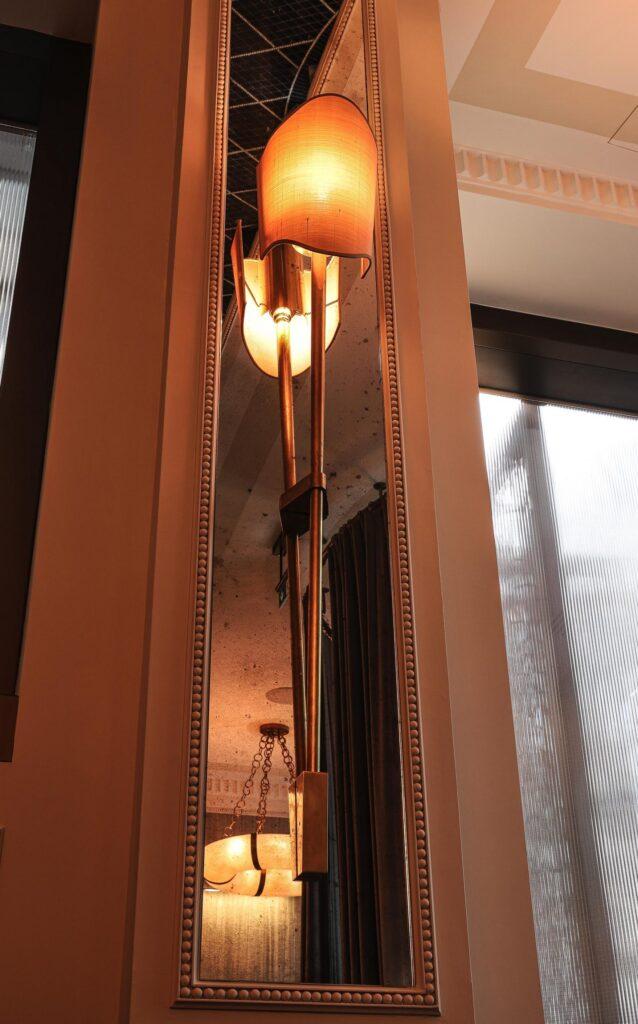 Bespoke wall light