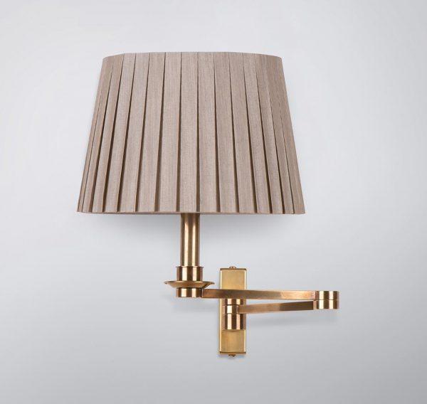 Devonshire Double Swing Arm Wall Lamp, Double Swing Arm Wall Light