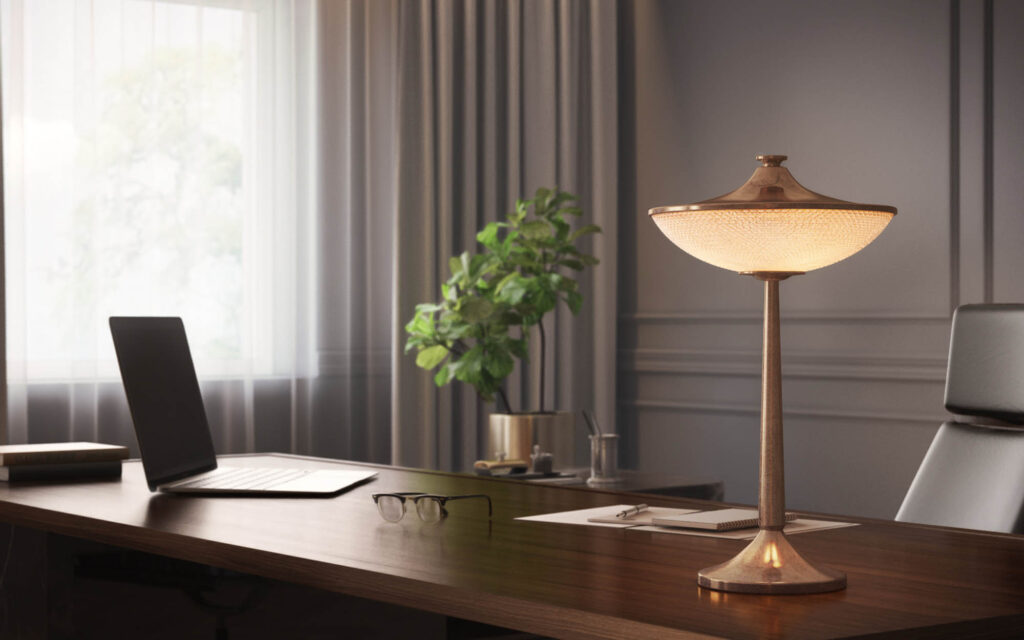 Choosing the right table lamp for your interior space