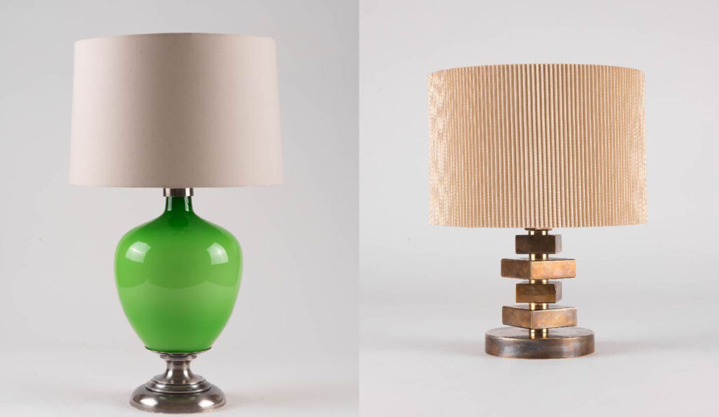 bold lamps x2