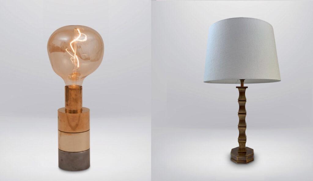 bold vintage lamps